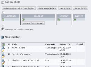 tt_news in Seitenansicht personalisieren Screenshot